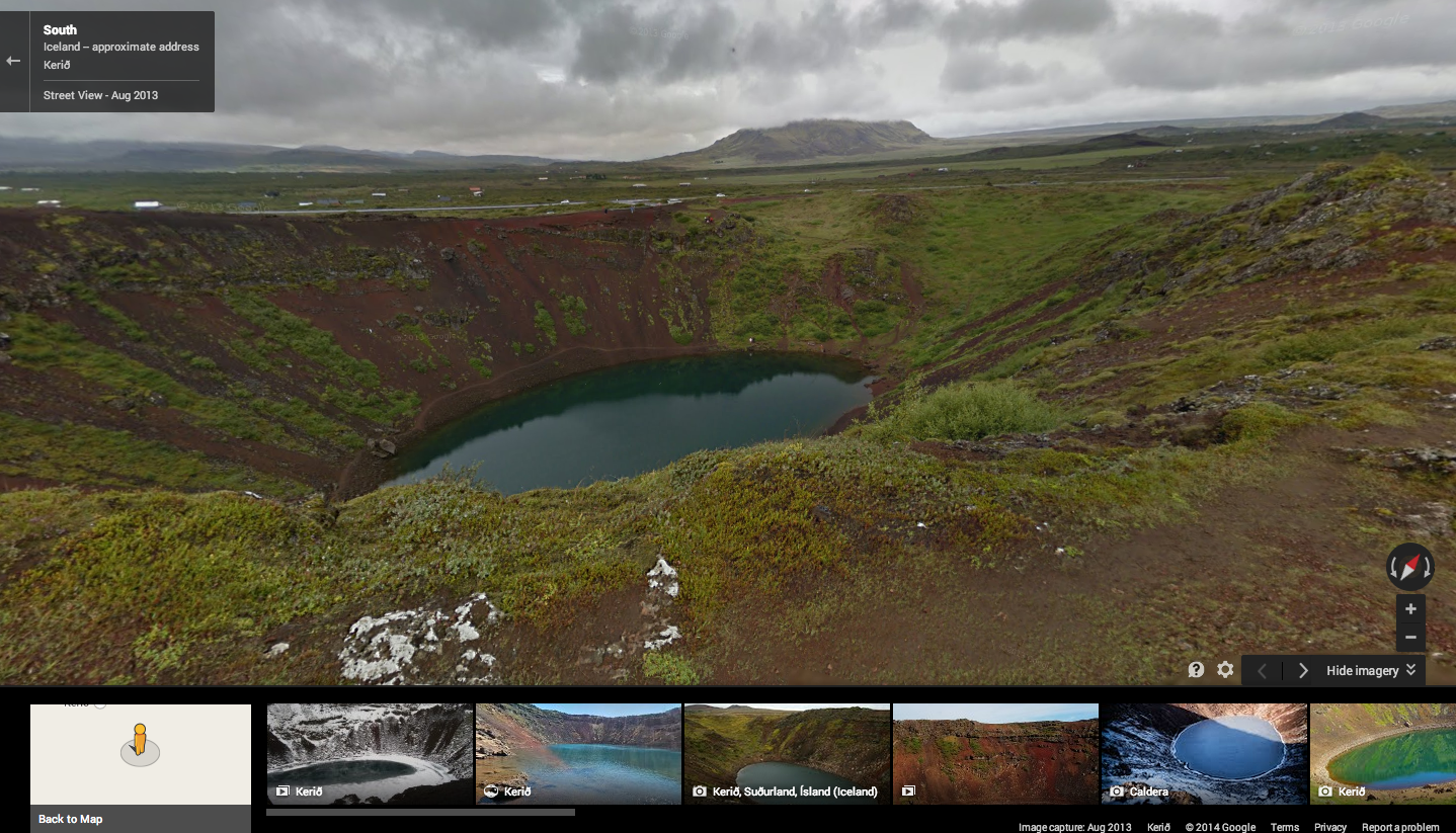 Screen Shot 2014 08 18 at 9.01.48 AM Google adds some of Icelands breathtaking waterfalls and geysers to Street View