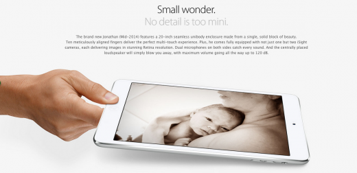 Screen Shot 2014 08 27 at 11.18.34 am 520x252 Heres how true Apple fanboys should introduce a newborn baby to the world