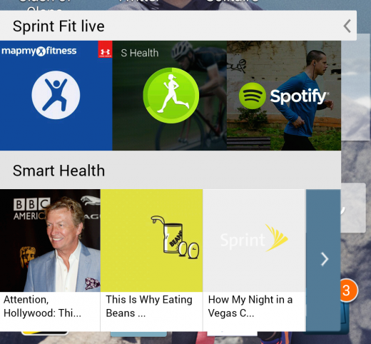 Screenshot 2014 08 28 13 35 54 520x482 Hands on with Sprint's Samsung Galaxy S5 Sport: Can a smartphone make you healthier?