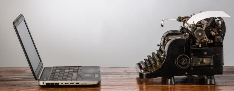 Typewriter-laptop