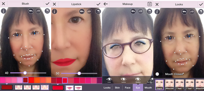 Untitled 2 CyberLinks YouCam Makeup app puts a virtual makeup kit inside your phone