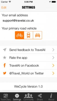 WeCycle wants to crowdsource cyclists every movement to help make roads safer