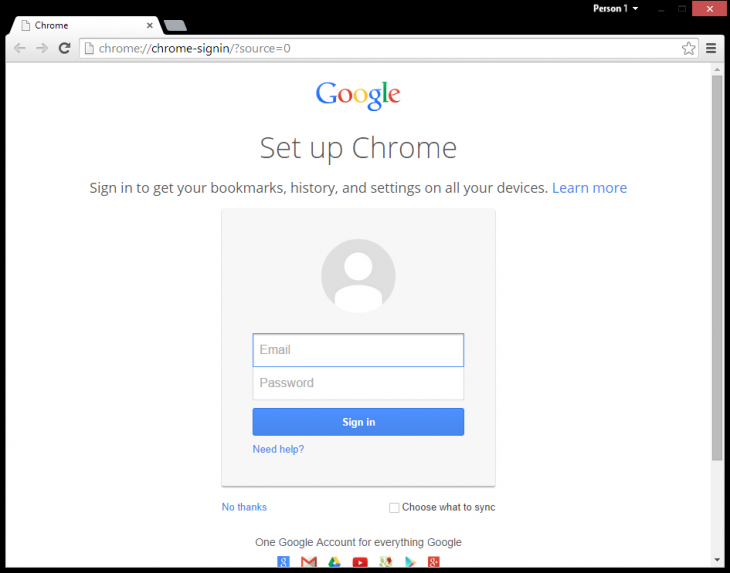 chrome switch user5 730x573 Google brings Chrome OS user management system to latest Chrome builds