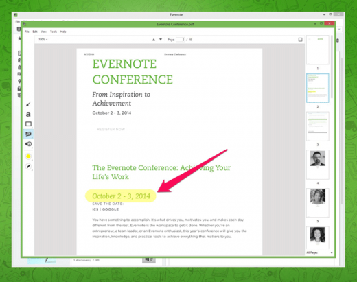 evernote windows 3 520x411 Evernote for Windows now lets you annotate PDFs