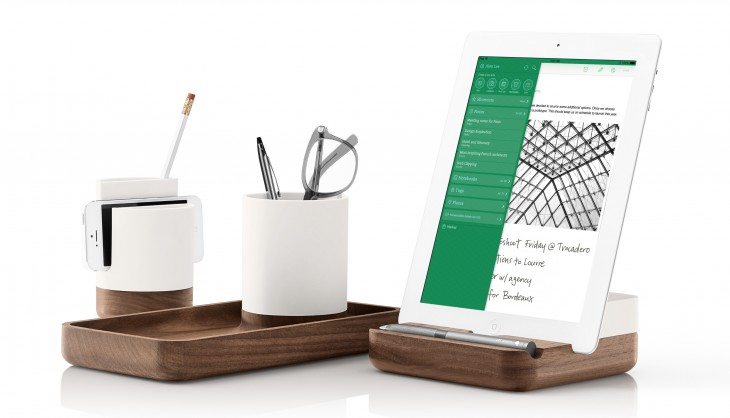 evernote2 730x418 Note taking app Evernote adds beautiful desk tidies to its online store