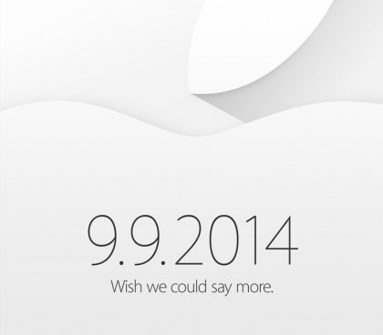 Apple sends out invites for September 9 event: 'Wish we could say more' - The Next Web