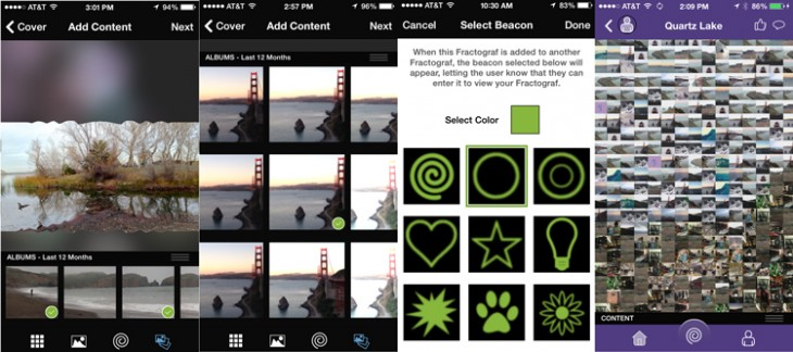 frax 730x324 Fractograf for iPhone redefines photo mosaics with social and collaborative features