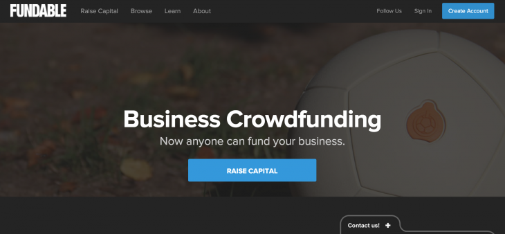 fundable 730x338 Which crowdfunding platform is right for your startup?