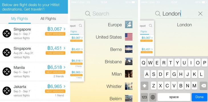 hitlist 2 730x357 Hitlist adds push notifications so you never miss bargain flights again