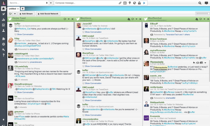 hootsuite 730x440 A step by step guide to hosting or joining a Twitter chat