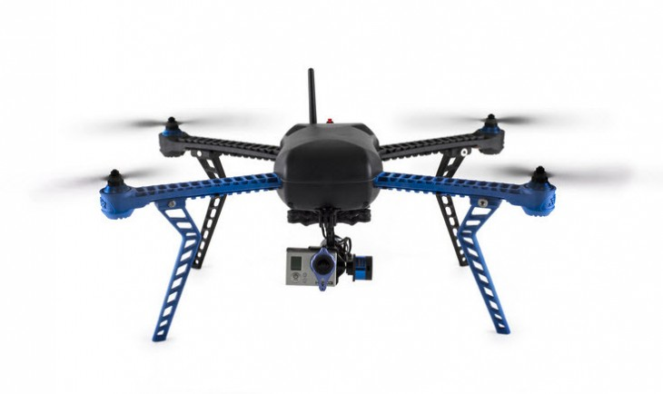iris with gimbal and gopro front 730x434 17 ways that drones are changing the world