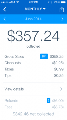 large 220x390 PayPal announces PayPal Here app will get on the go Sales Reports