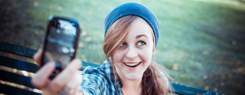 line selfie app