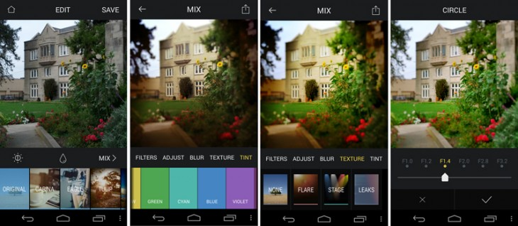 miz2 730x318 Roll your own photo presets with Mix for Android