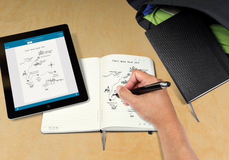 moleskine Livescribe d 730x510 You can now use your Livescribe smartpen with Moleskine notebooks