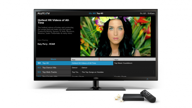 music fire 730x410 Web video service Pluto.tv lands on connected televisions with an app for Amazon's Fire TV