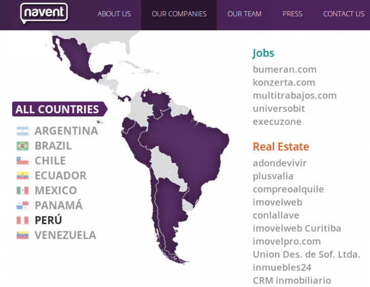 navent 730x567 August in Latin America: All the tech news you shouldnt miss from the past month