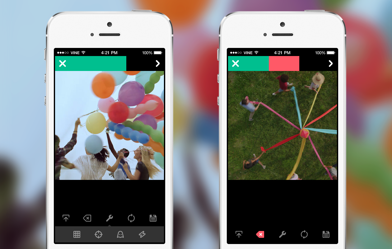 new camera 4 Vine gets advanced editing tools and now lets you import existing videos, just like Instagram
