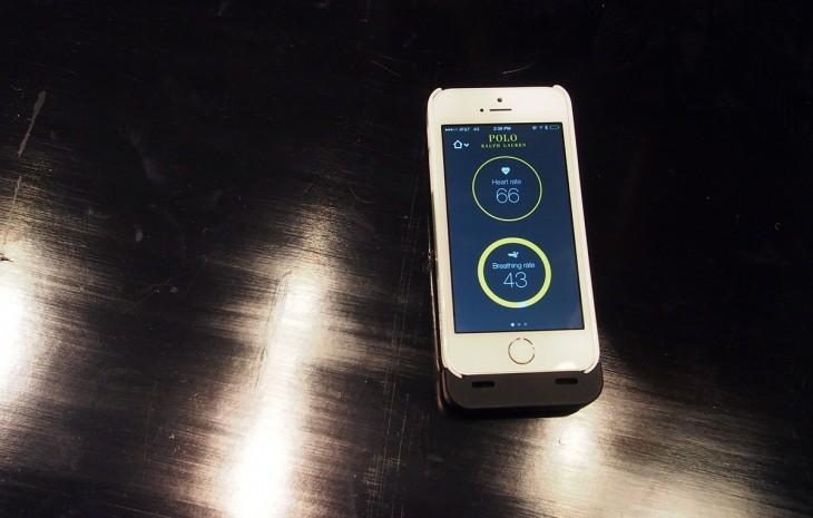 ralph lauren smart app 730x465 Game, set, match: Hands on with Ralph Laurens Polo Tech smart shirt
