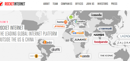 rocket internet portfolio