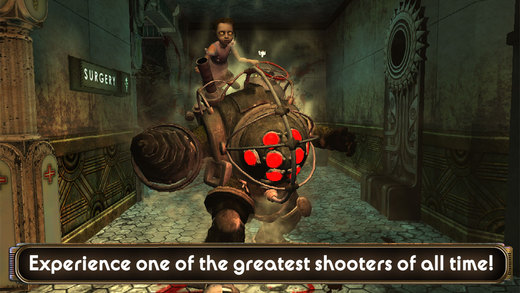 BioShock, the iconic first person shooter, arrives on iOS for $14.99
