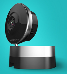 simplicam 220x242 ArcSoft Simplicam: A solid Dropcam rival with face detection and cloud recording