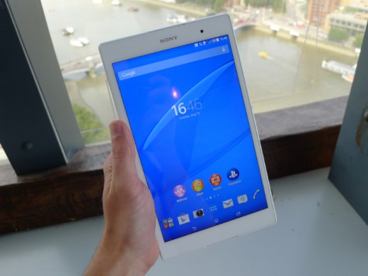 tablet1 520x390 Sony Xperia Z3 Tablet Compact: A skinny, waterproof 8 inch slate with an abysmal name