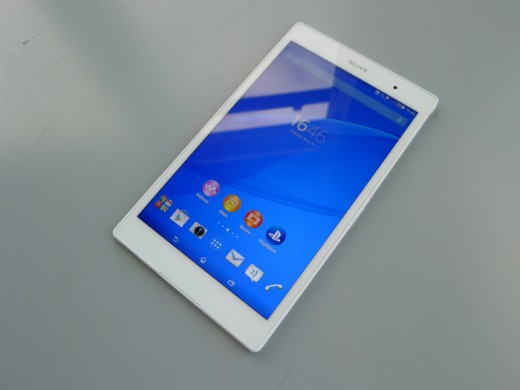 tablet4 520x390 Sony Xperia Z3 Tablet Compact: A skinny, waterproof 8 inch slate with an abysmal name