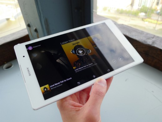 tablet7 520x390 Sony Xperia Z3 Tablet Compact: A skinny, waterproof 8 inch slate with an abysmal name