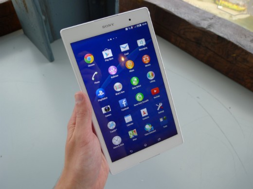 tablet8 520x390 Sony Xperia Z3 Tablet Compact: A skinny, waterproof 8 inch slate with an abysmal name