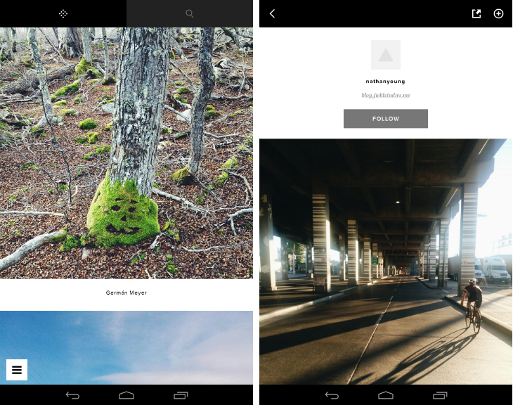 vsco1 VSCO Cam for Android gets an Instagram style feed for following other photographers