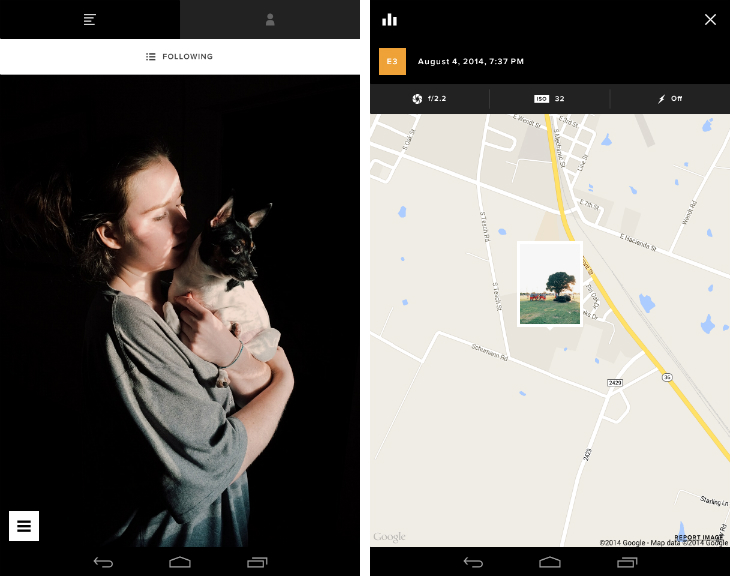 vsco2 VSCO Cam for Android gets an Instagram style feed for following other photographers