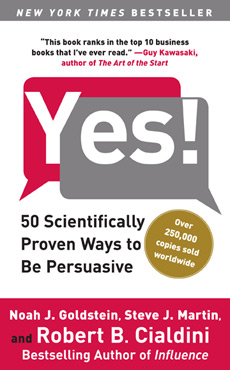 yes 25 underrated books on persuasion, influence and understanding human behavior