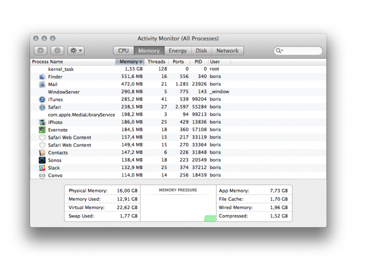 ActivityManager 730x538 8 lesser known, but very useful, Apple Mac utilities