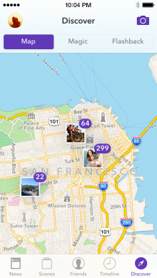 Discover Map English 220x390 Seahorse takes a new angle on mobile photo sharing with image co ownership