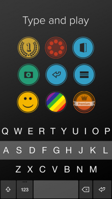 Fleksy iOS8 type play 220x390 Fleksy flexes its iOS 8 muscles as the keyboard app arrives for iPhone and iPad