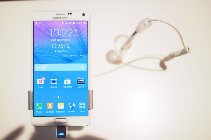 Galaxy Note 4 730x486 Samsung Galaxy Note 4 hands on: More of the same, but that might not be a bad thing