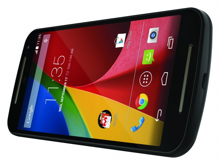 Moto G Frnt Lnd Dyn NA EN CMYK 730x547 Motorolas Moto G is back with a 5 inch screen, microSD expansion slot and upgraded cameras
