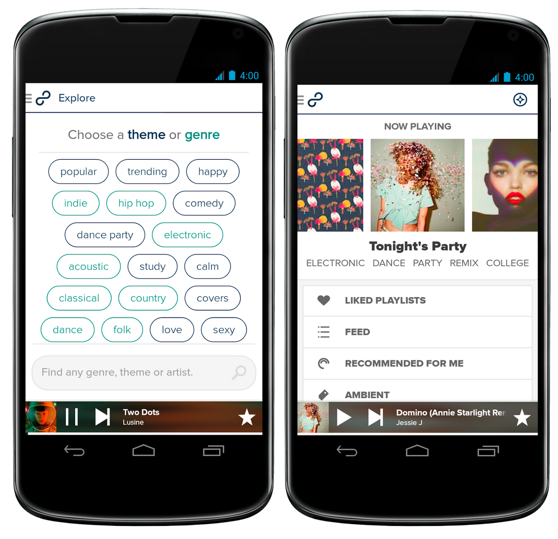 Screen Shot 2014 09 03 at 7.59.18 pm 8tracks overhauls its Android app to help you find the perfect mix