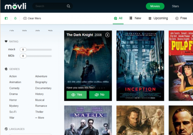 Screenshot 2014 09 03 10.54.55 730x512 Movli is a movie database, social network, and recommendation engine all in one