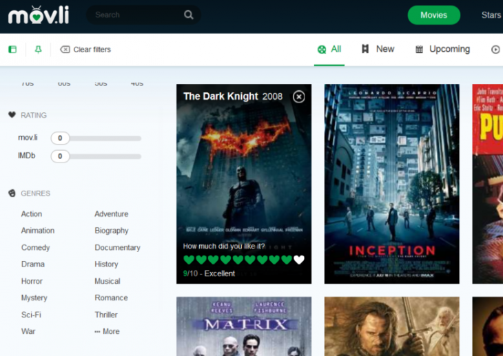 Screenshot 2014 09 03 10.55.16 730x517 Movli is a movie database, social network, and recommendation engine all in one