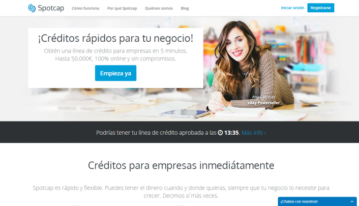 Screenshot 2014 09 04 14.12.56 730x419 Rocket Internet backed Spotcap wants to make financing easier for small businesses