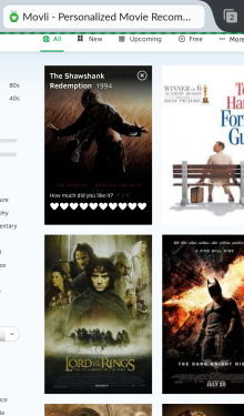 Screenshot 2014 09 03 10 56 401 220x375 Movli is a movie database, social network, and recommendation engine all in one