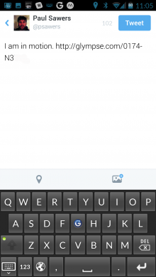 Screenshot 2014 09 12 11 05 58 220x391 Glympse Keyboard launches for Android to help you share your location from any app