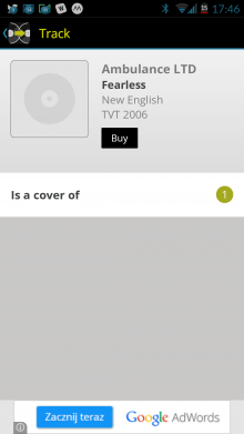 Screenshot 2014 09 22 17 46 32 220x391 See whos remixed and covered your favorite songs with WhoSampled for Android