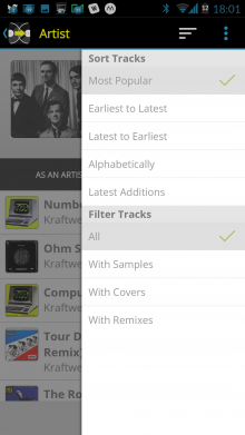 Screenshot 2014 09 22 18 01 11 220x391 See whos remixed and covered your favorite songs with WhoSampled for Android