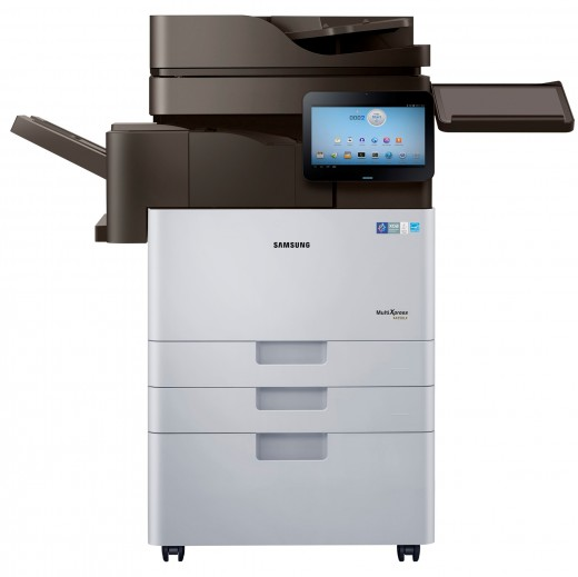 Smart MultiXpress K4350 series 520x519 Samsung launches Android powered printers, with a 10.1 screen that connects you directly to the Web