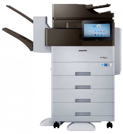 Smart MultiXpress M5370 series 520x568 Samsung launches Android powered printers, with a 10.1 screen that connects you directly to the Web