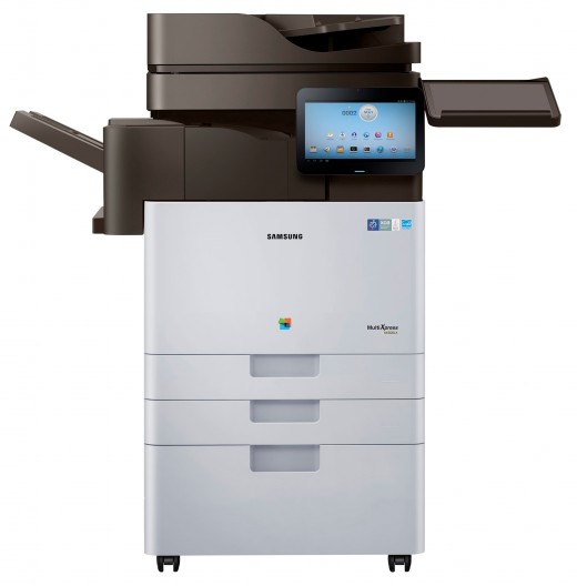 Smart MultiXpress X4300 series 520x528 Samsung launches Android powered printers, with a 10.1 screen that connects you directly to the Web