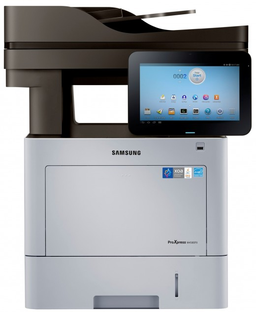 Smart ProXpress M4580 series1 520x634 Samsung launches Android powered printers, with a 10.1 screen that connects you directly to the Web